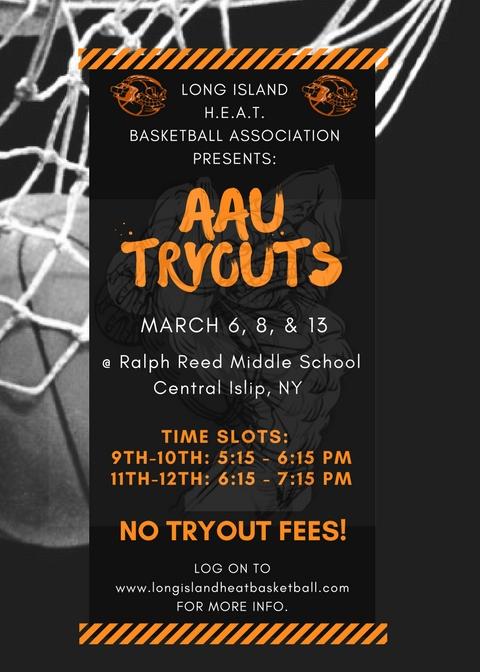 Long Island Basketball Tryouts